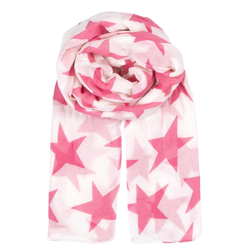 Fine Twilight Scarf - Pink Carnation