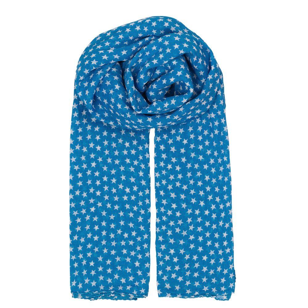 Fine Summer Star Scarf - Brilliant Blue