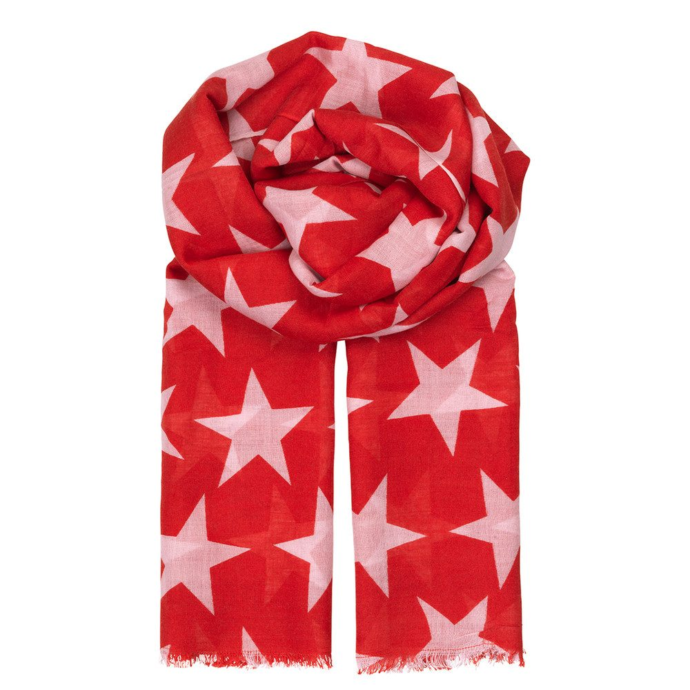 Supersize Nova Scarf - Rouge Red