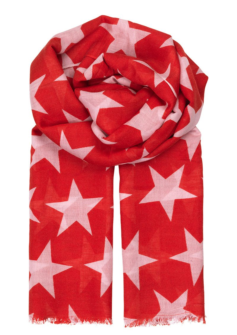 Becksondergaard Supersize Nova Scarf - Rouge Red main image
