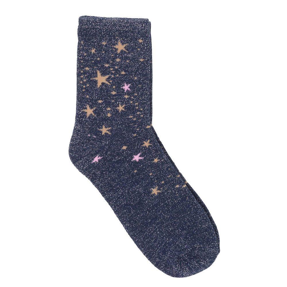 Dina Stardust Socks - Medieval Blue
