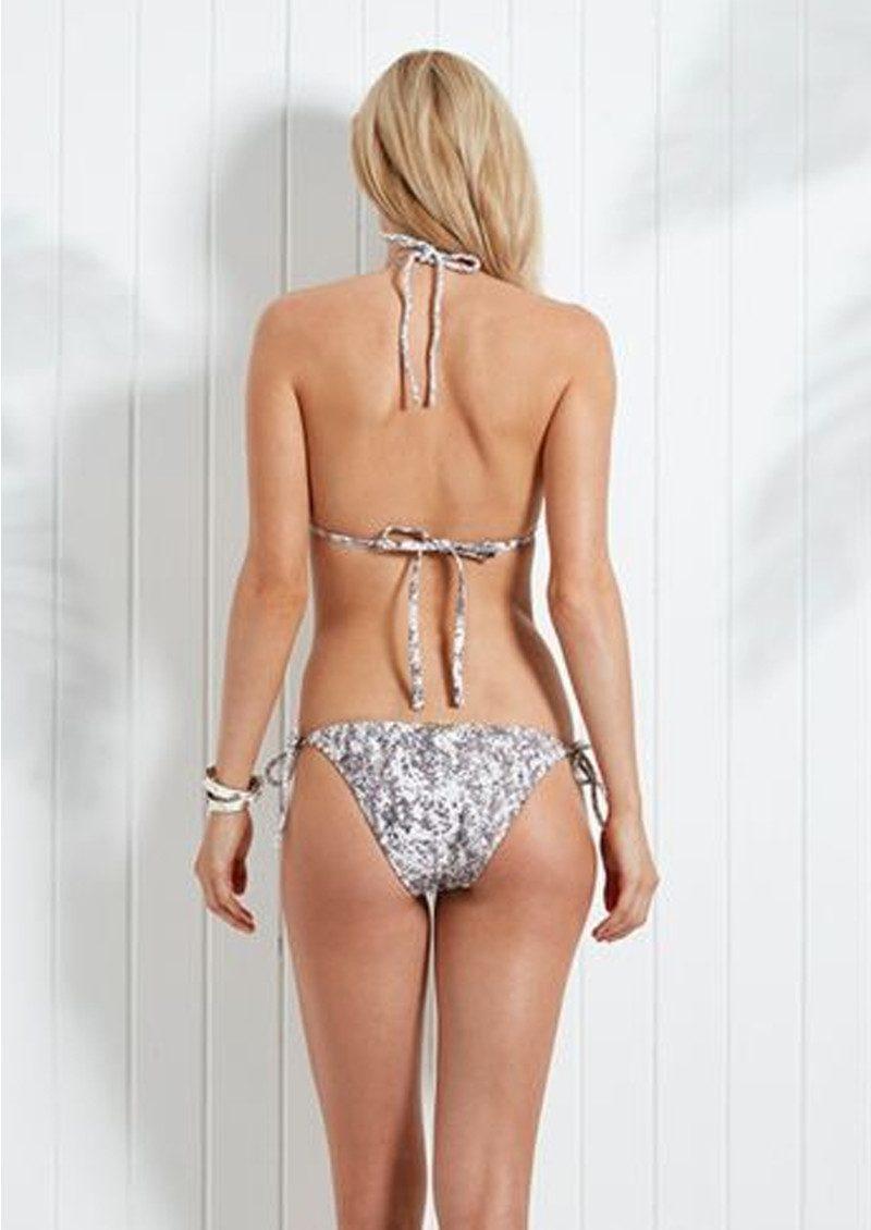 HEIDI KLEIN Zanzibar Rope Tie Triangle Bikini Top - Print main image