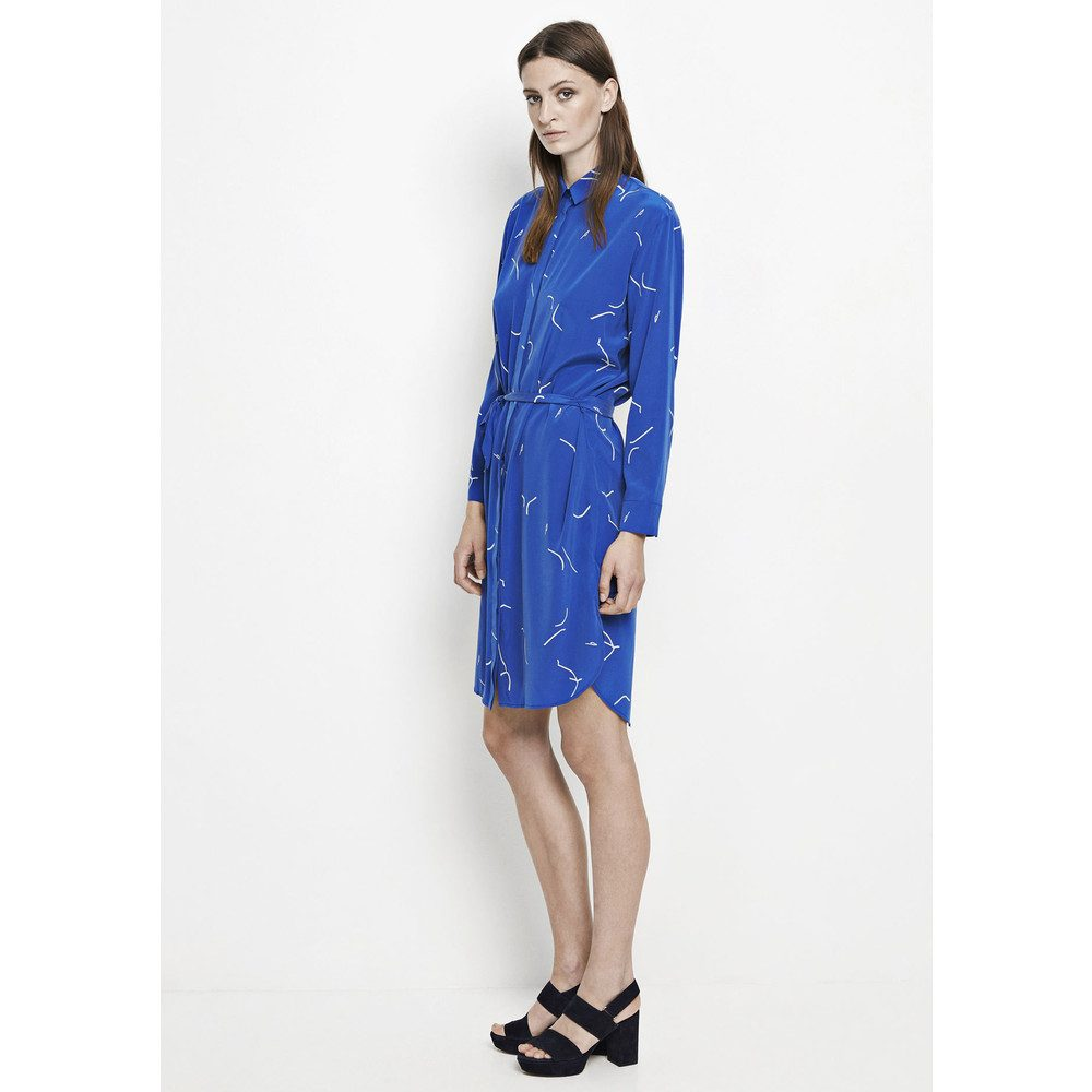 Bristo Shirt Dress - Martisse Blue