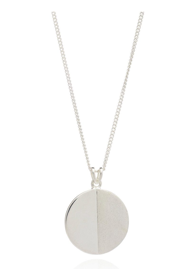 Lunar Moon Necklace - Silver main image