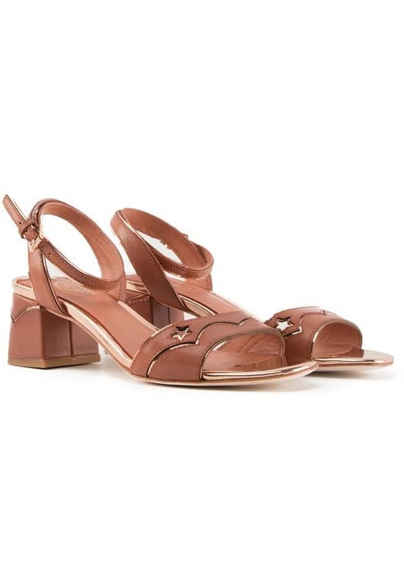 Ash Odelia Strappy Sandals - Rosewood main image