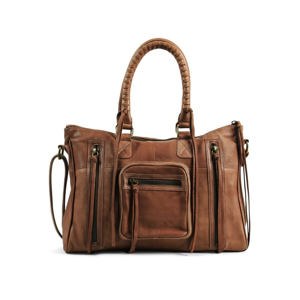Rose Satchel - Cognac