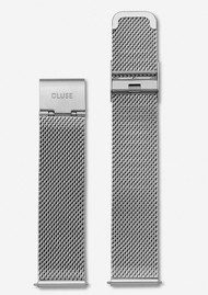 CLUSE La Boheme Mesh Strap - Silver