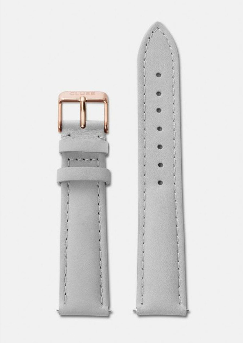 CLUSE La Boheme Leather Strap - Grey & Rose Gold  main image