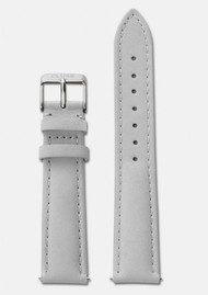CLUSE La Boheme Leather Strap - Grey & Silver