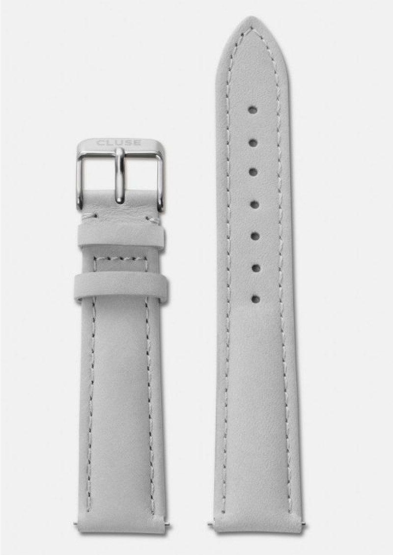 CLUSE La Boheme Leather Strap - Grey & Silver main image