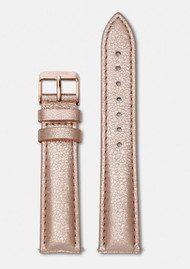 CLUSE La Boheme Metallic Leather Strap - Rose Gold