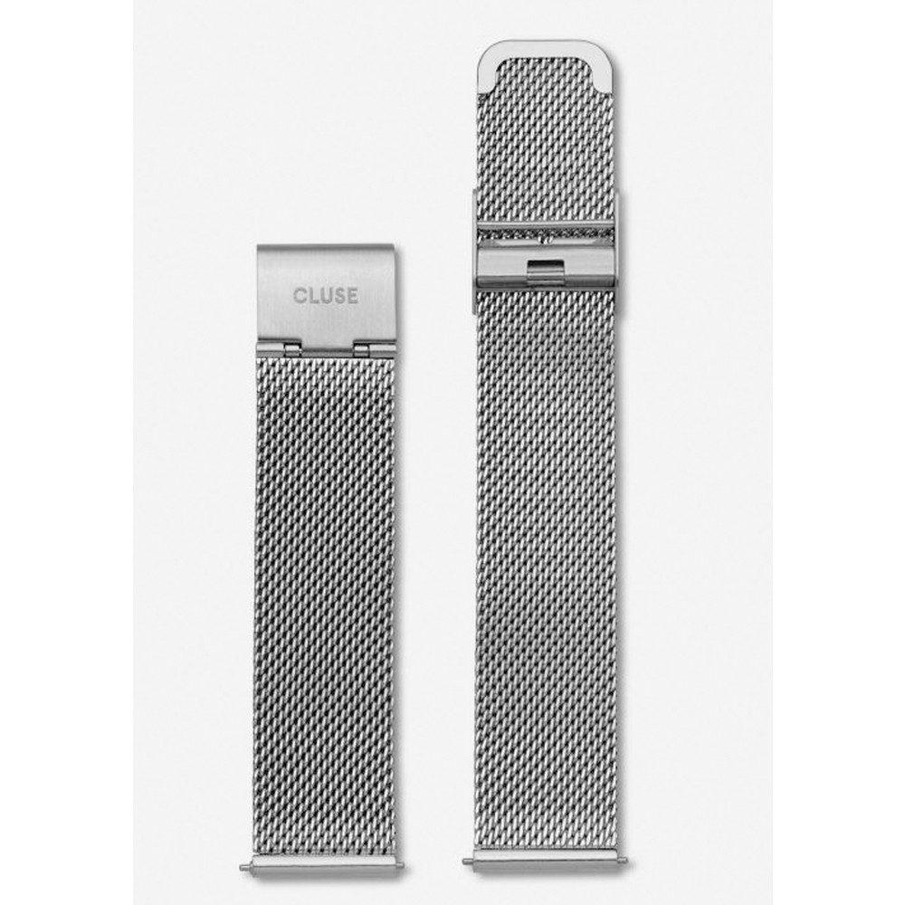 Minuit Mesh Strap - Silver