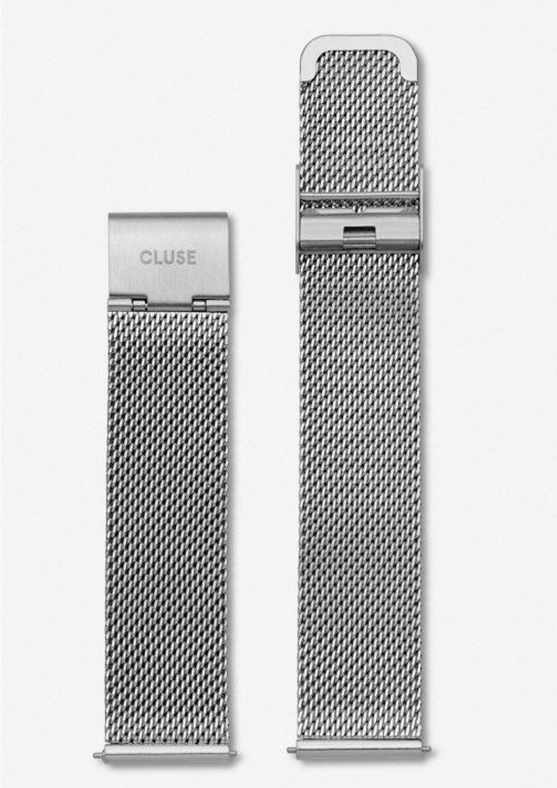 CLUSE Minuit Mesh Strap - Silver main image