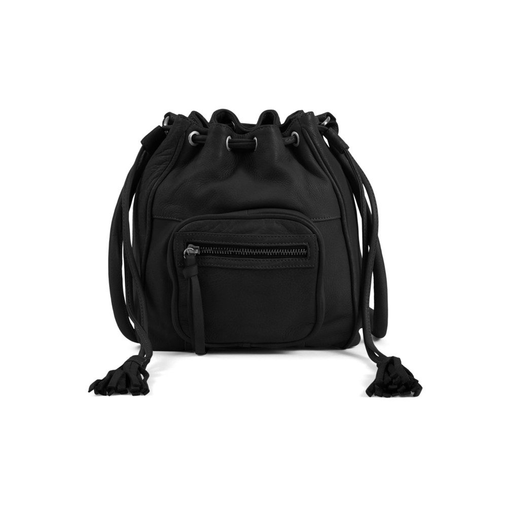 Rose Bucket Bag - Black