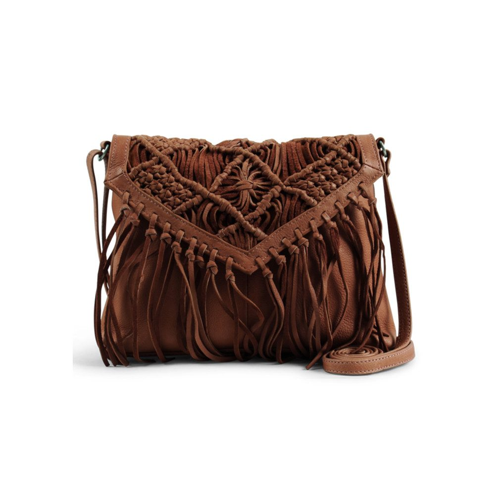 Violet Crossbody Bag - Cognac