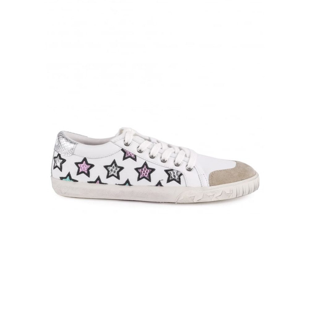 Majestic Star Trainers - White & Silver