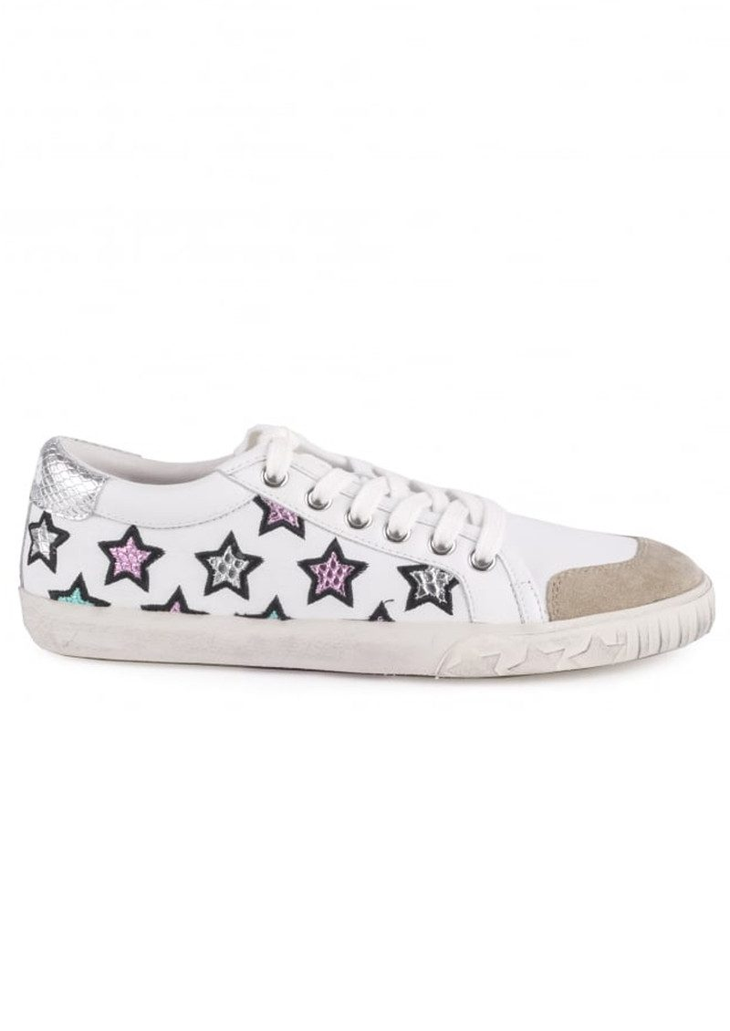 Ash Majestic Star Trainers - White & Silver main image
