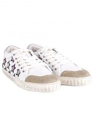 Ash Majestic Star Trainers - White & Silver