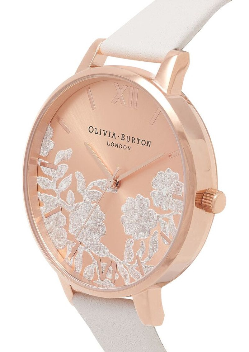 Olivia Burton Lace Detail Watch - Blush & Rose Gold main image