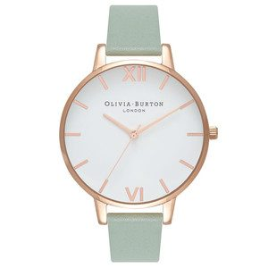 Big Dial White Dial - Mint & Rose Gold