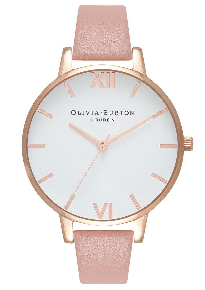 Olivia Burton Big Dial White Dial - Dusty Pink & Rose Gold main image