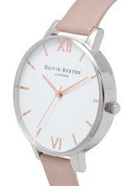 Olivia Burton Big Dial Vegan Friendly - Rose Sand & Silver