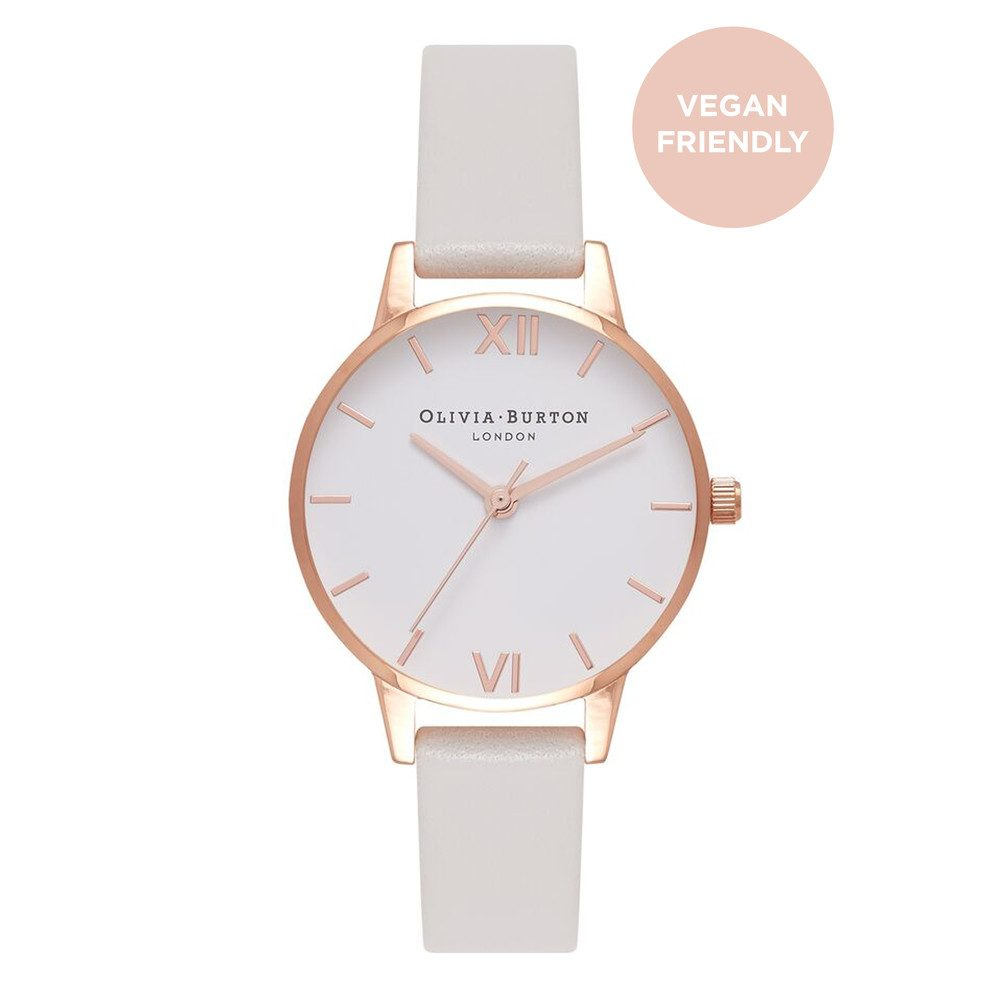 Vegan Friendly Midi Dial - Grey & Rose Gold