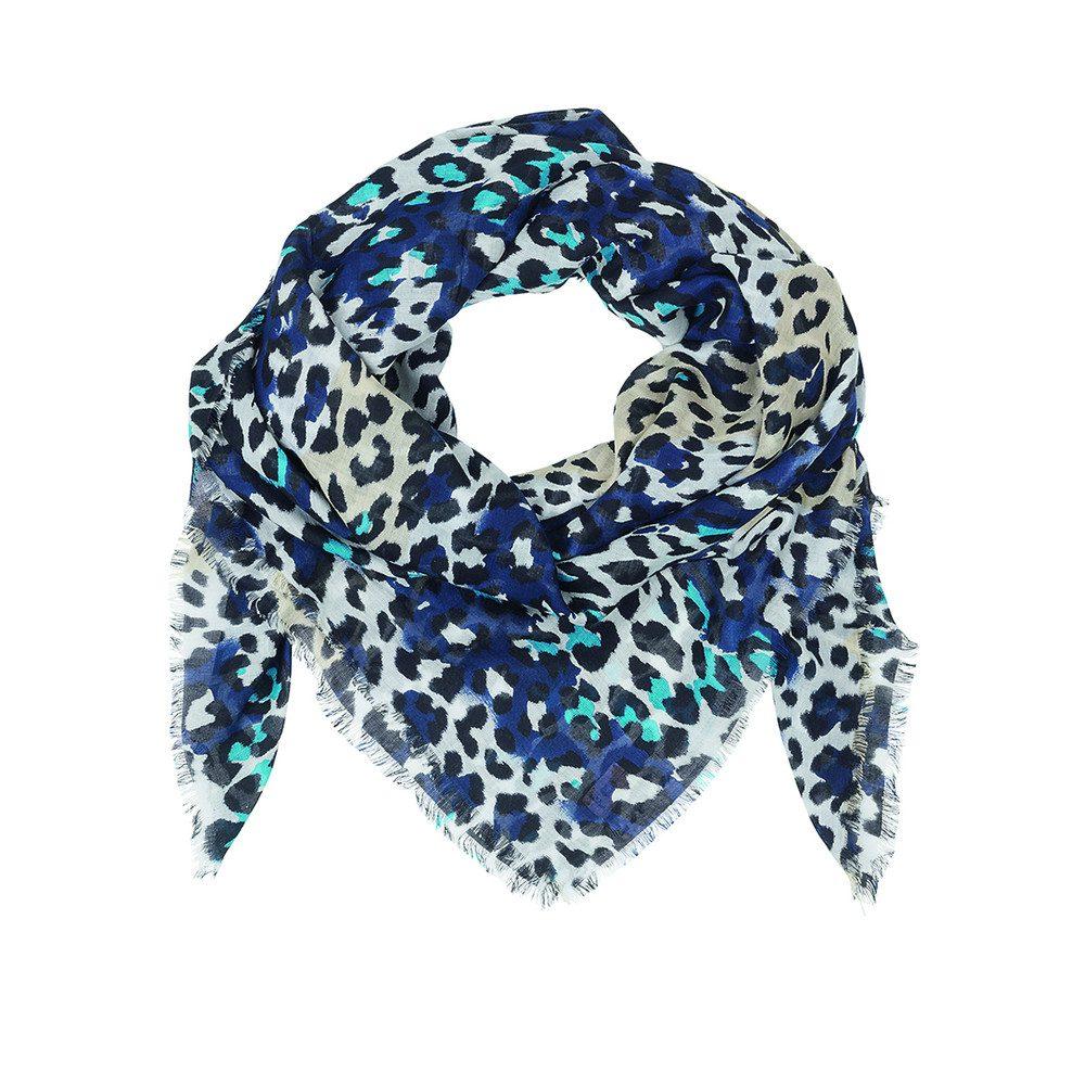 Leopra Scarf - Brilliant Blue