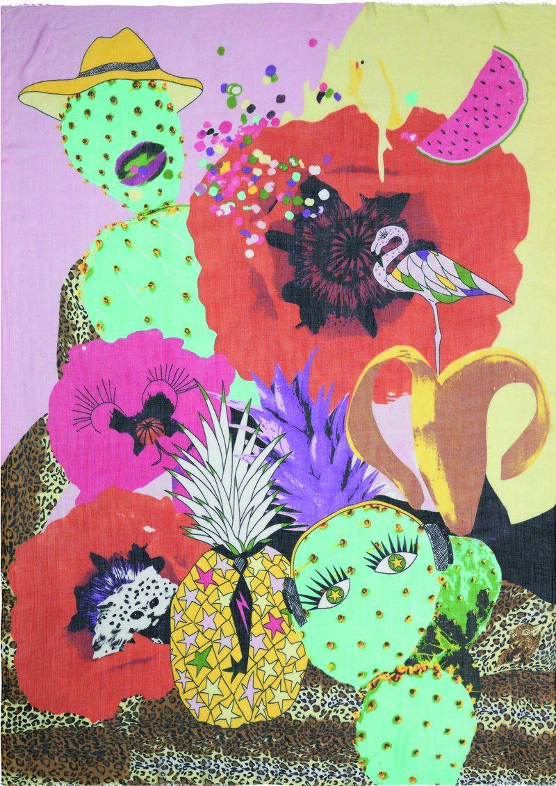 Becksondergaard Maliah Scarf - Multi main image
