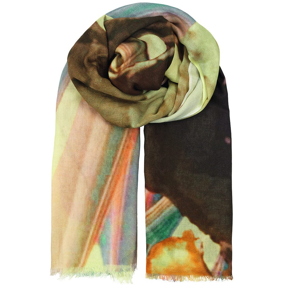 Halawa Cotton Scarf - Lemonade