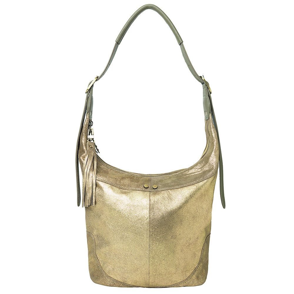 Ewa Leather Bag - Burnt Olive