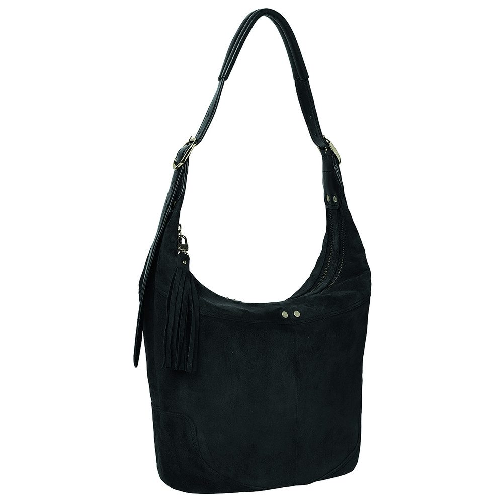 Ewa Leather Bag - Black