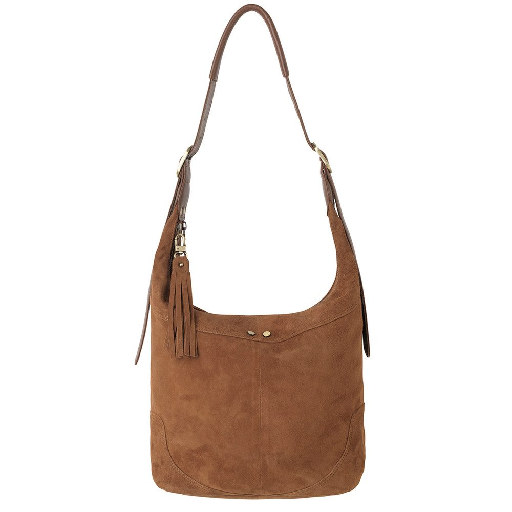 Ewa Leather Bag - Sundan Brown