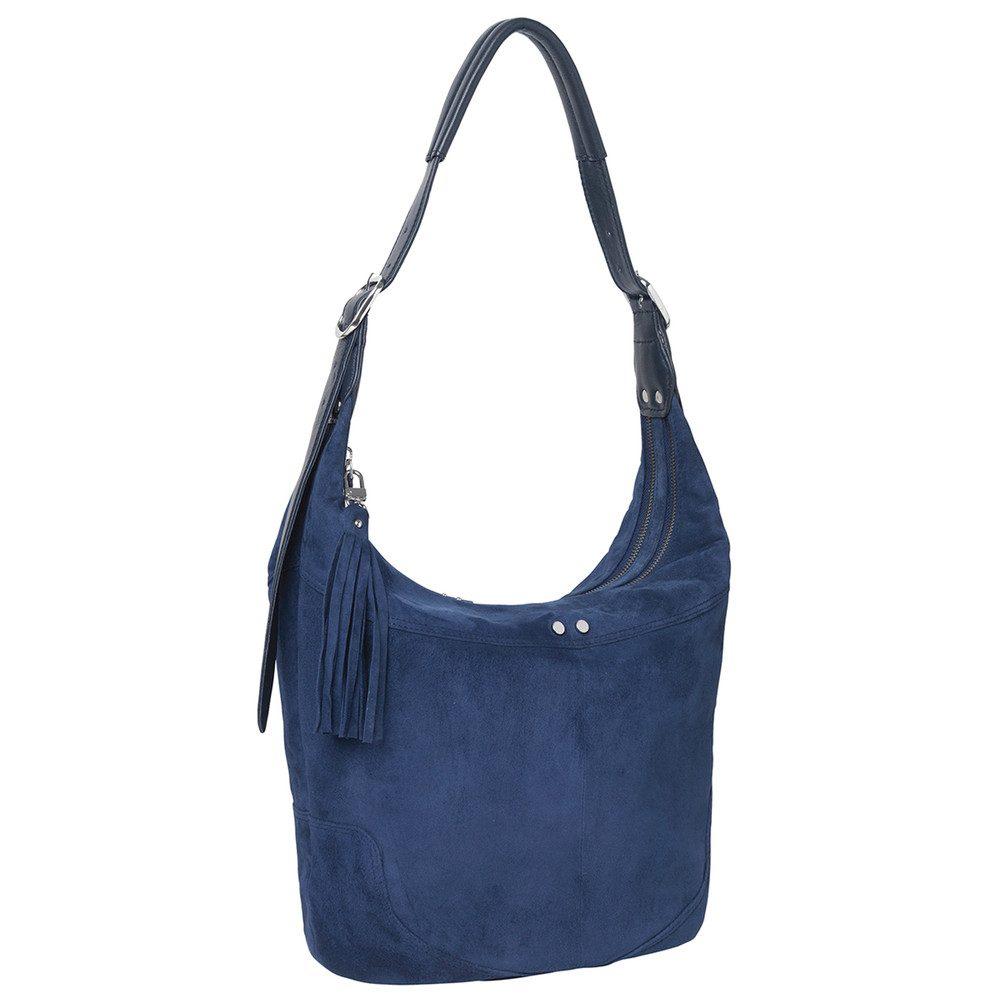 Ewa Leather Bag - Medieval Blue