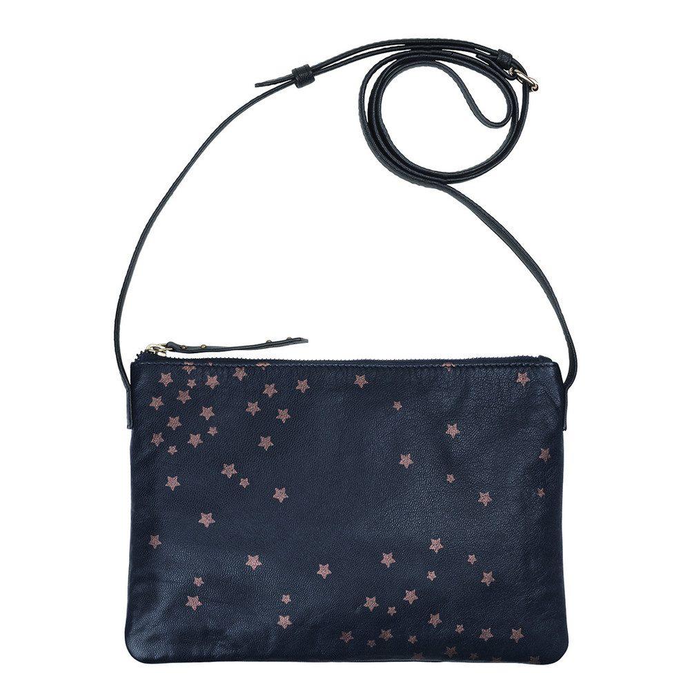 Hepu Stars Leather Bag - Medieval Blue