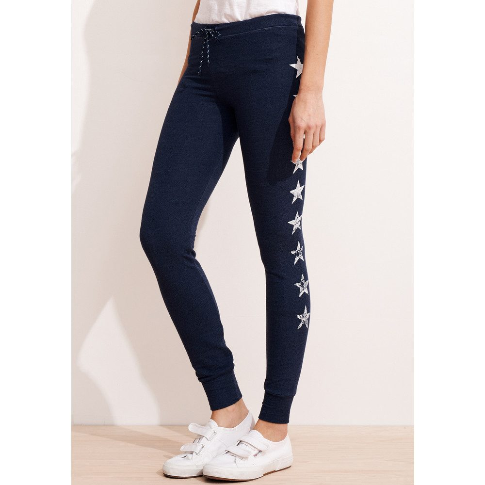 Skinny Star Sweat Pants - Ink