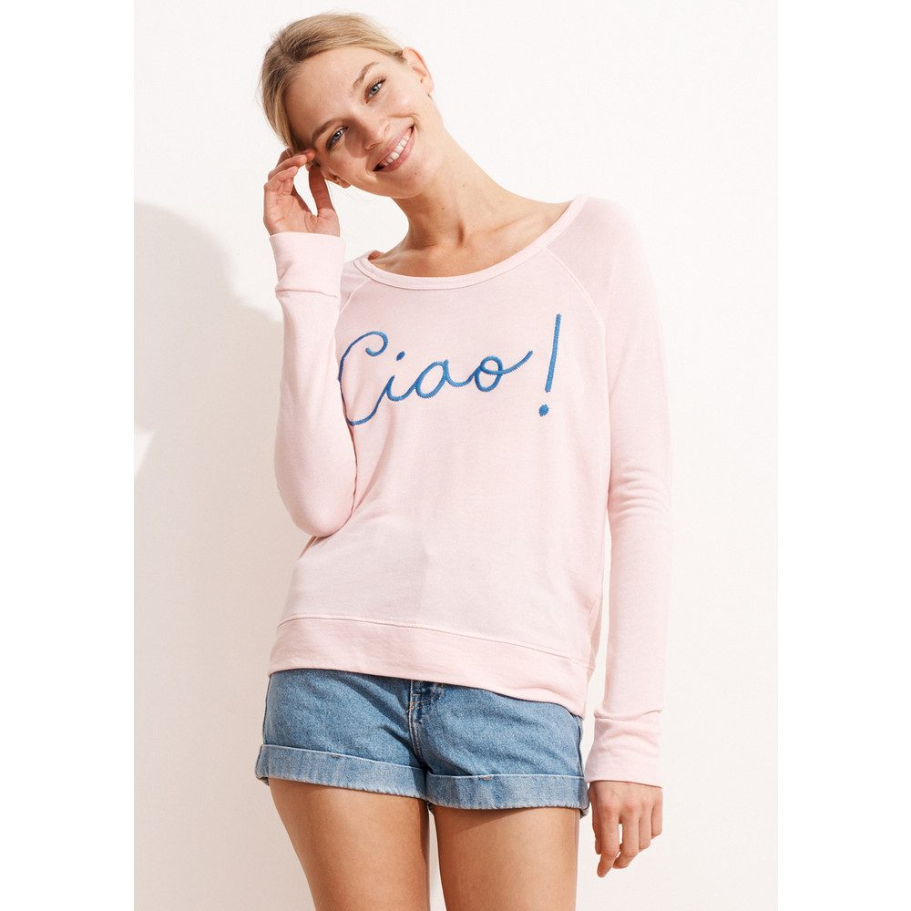 Ciao! Cropped Pullover - Rose
