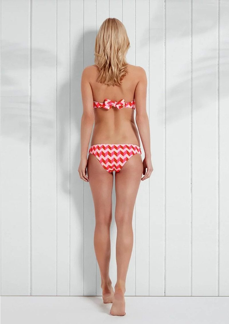 HEIDI KLEIN Sophie Anderson Rosario Hipster Bikini Bottoms - Pink main image
