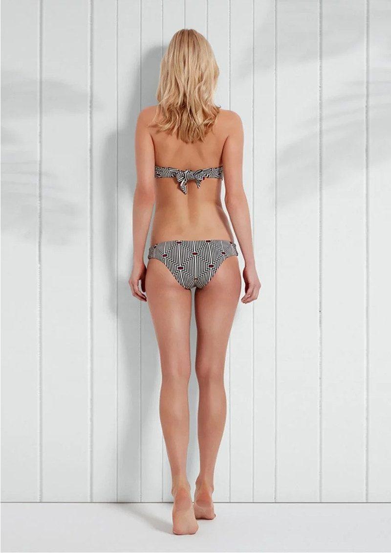 HEIDI KLEIN Sophie Anderson Palomino Bandeau Bikini Top - Navy main image