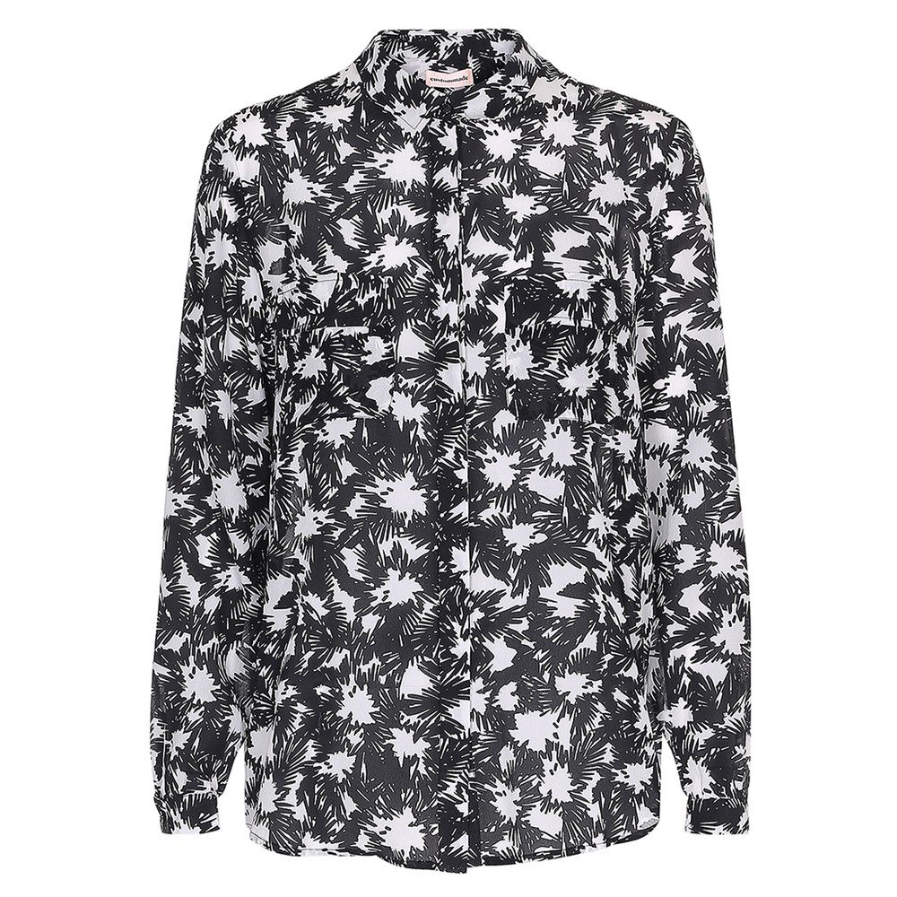 Abelone Silk Shirt - Nimbus Cloud