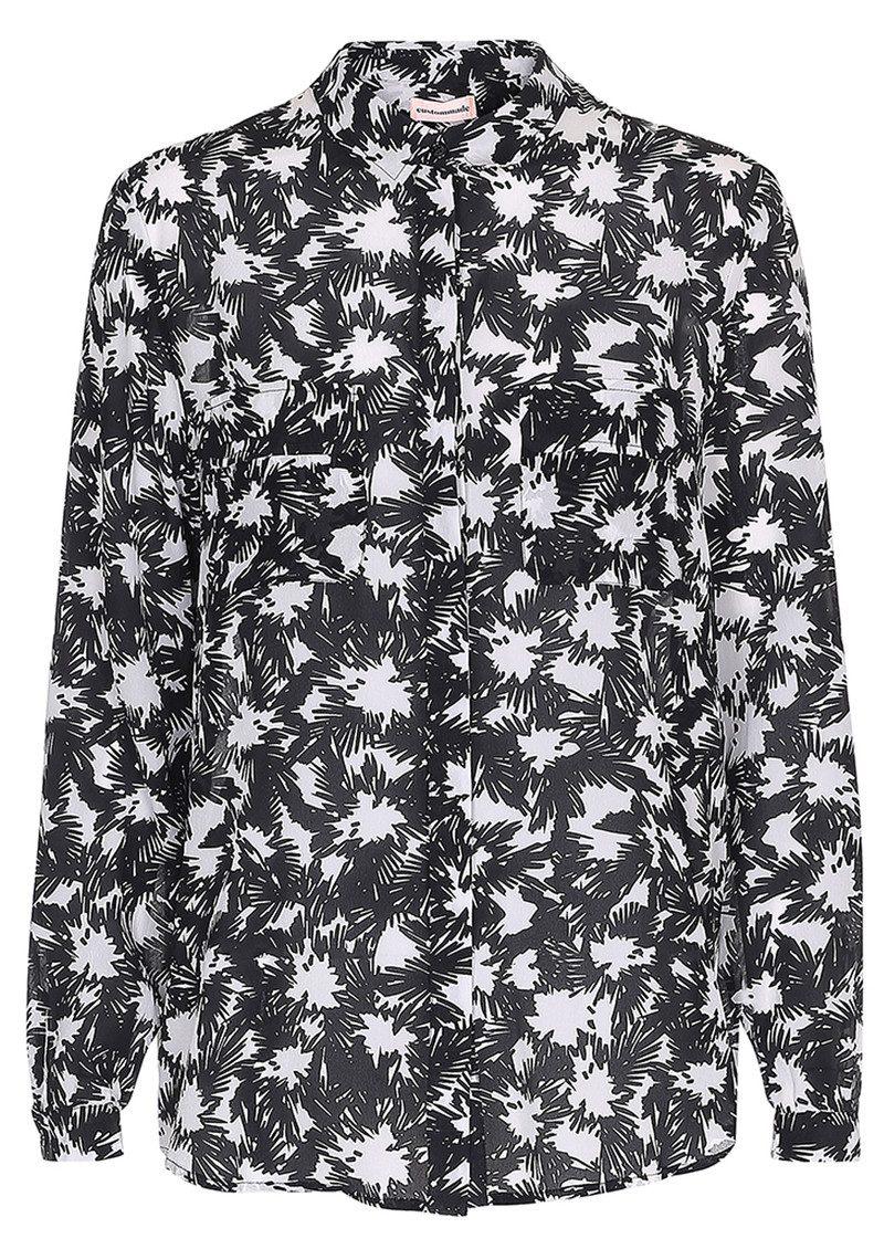 CUSTOMMADE Abelone Silk Shirt - Nimbus Cloud main image