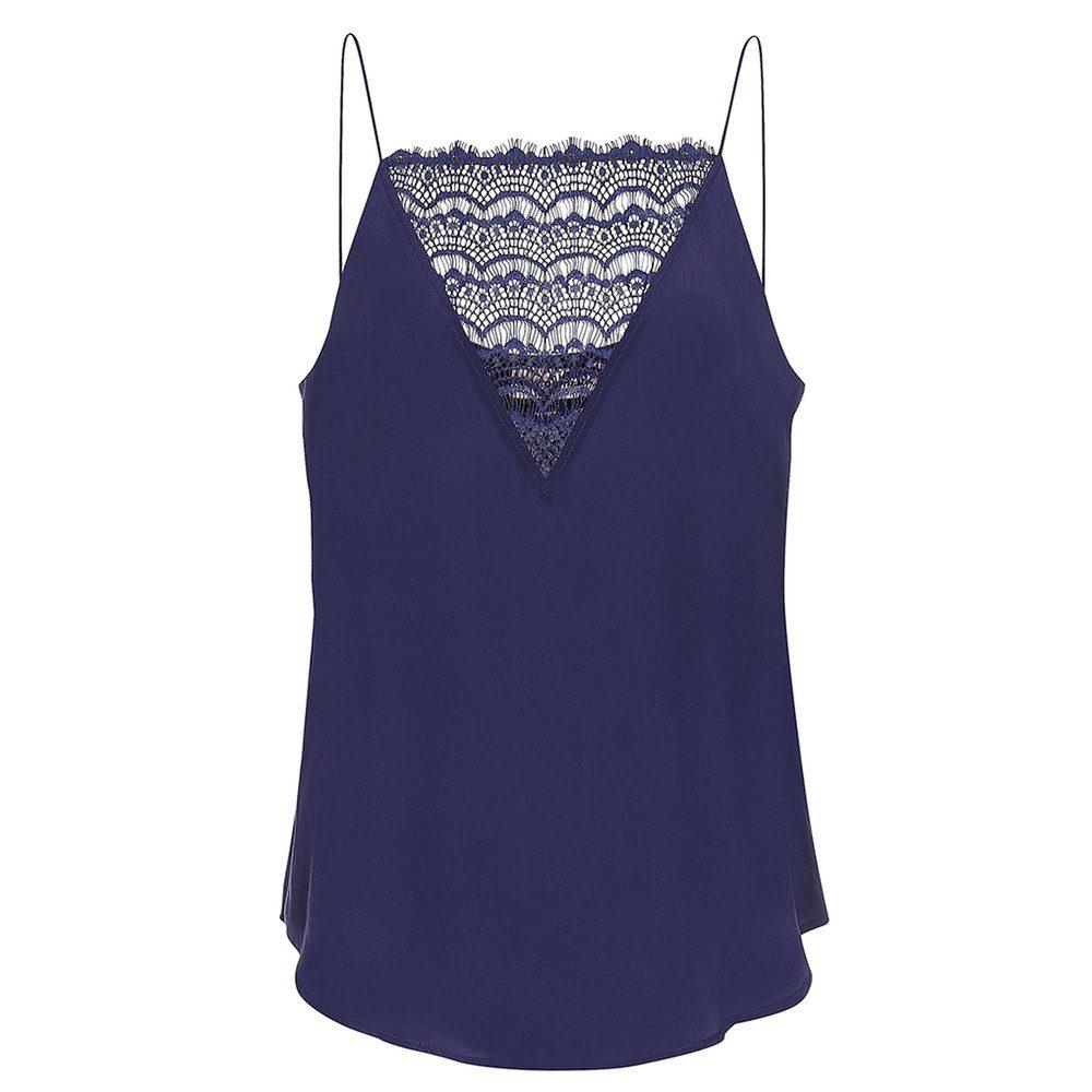 Elvira Lace Camisole - Evening Blue