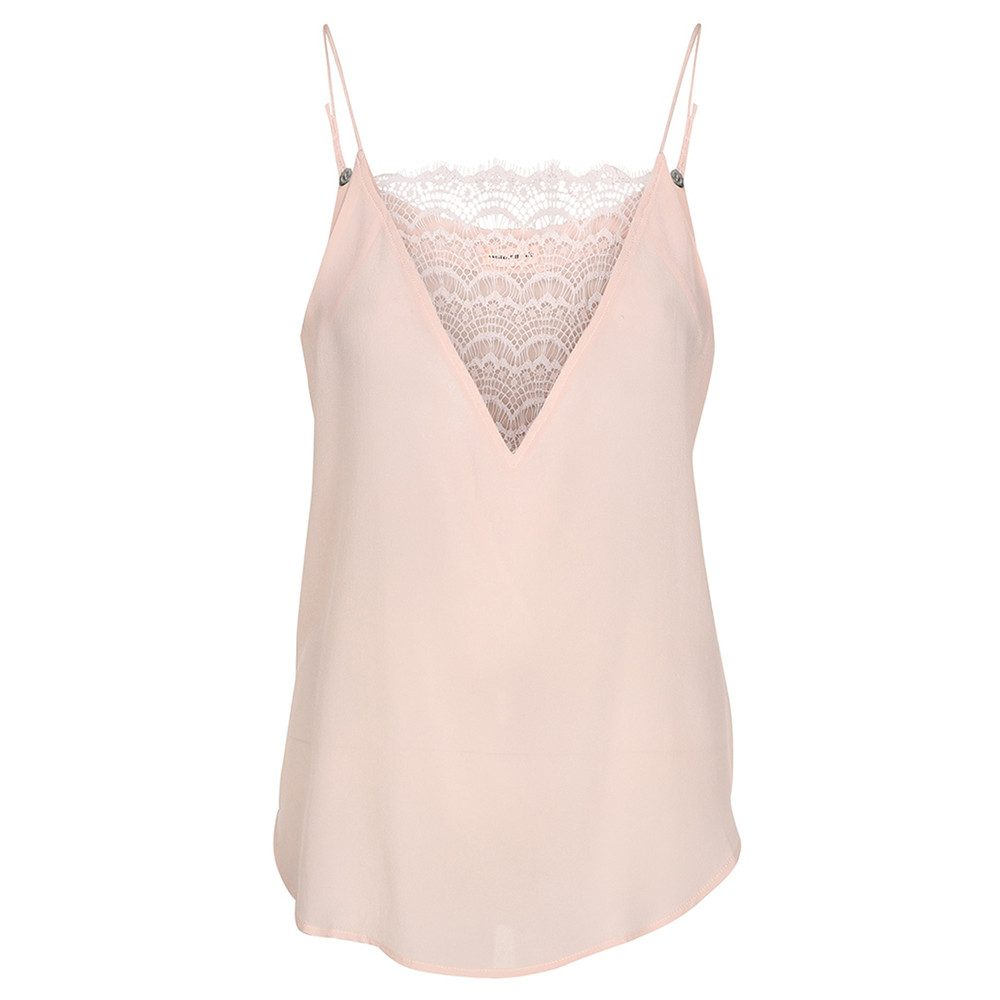 Elvira Lace Camisole - Peach Whip