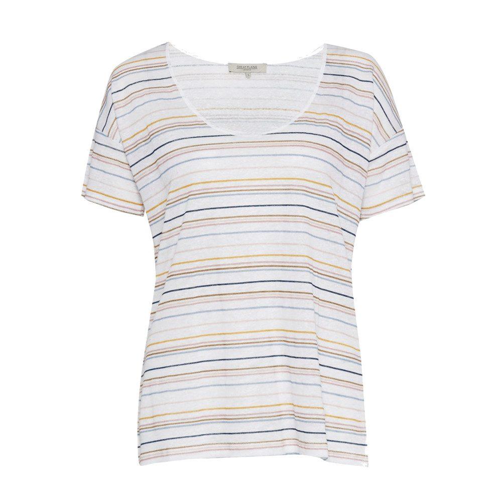 Sugar Stripe Colour T-Shirt - Multi