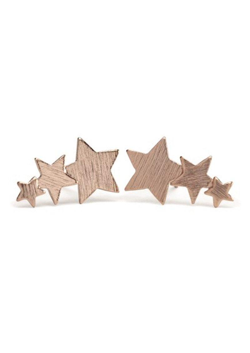 PERNILLE CORYDON Shooting Star Earrings - Rose Gold main image