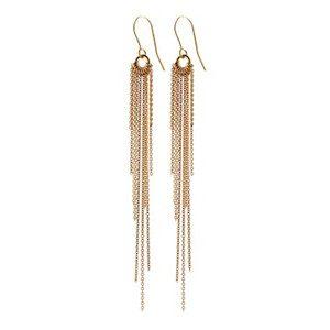 Rain Hook Earrings - Gold
