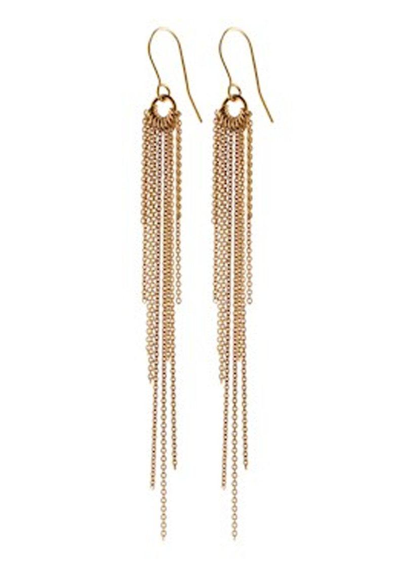PERNILLE CORYDON Rain Hook Earrings - Gold main image