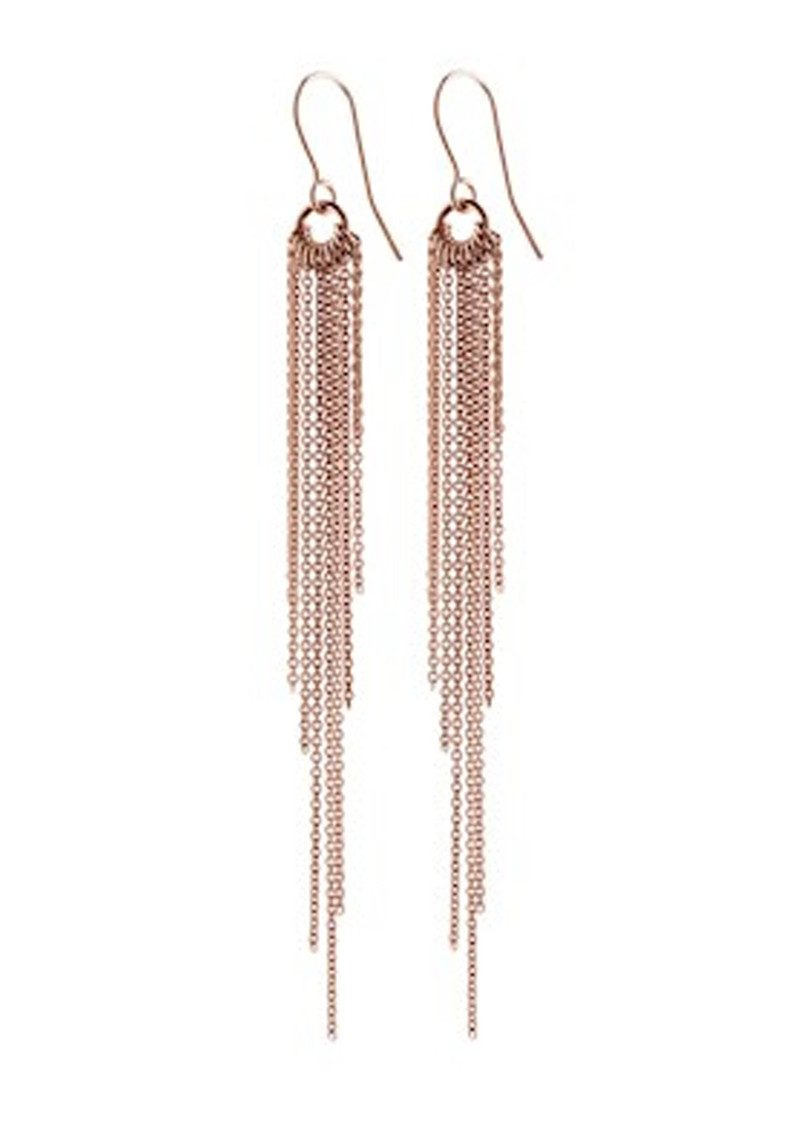 PERNILLE CORYDON Rain Hook Earrings - Rose Gold main image