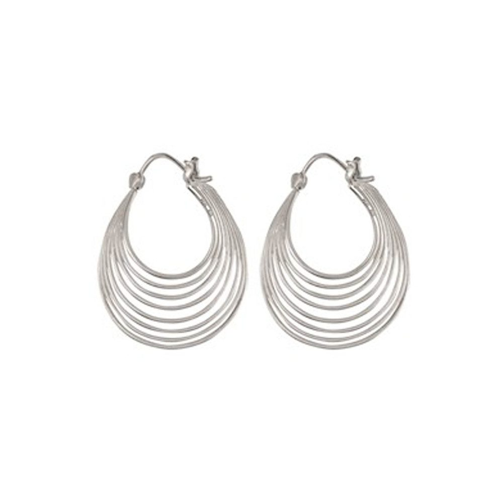 Silhouette Earrings - Silver