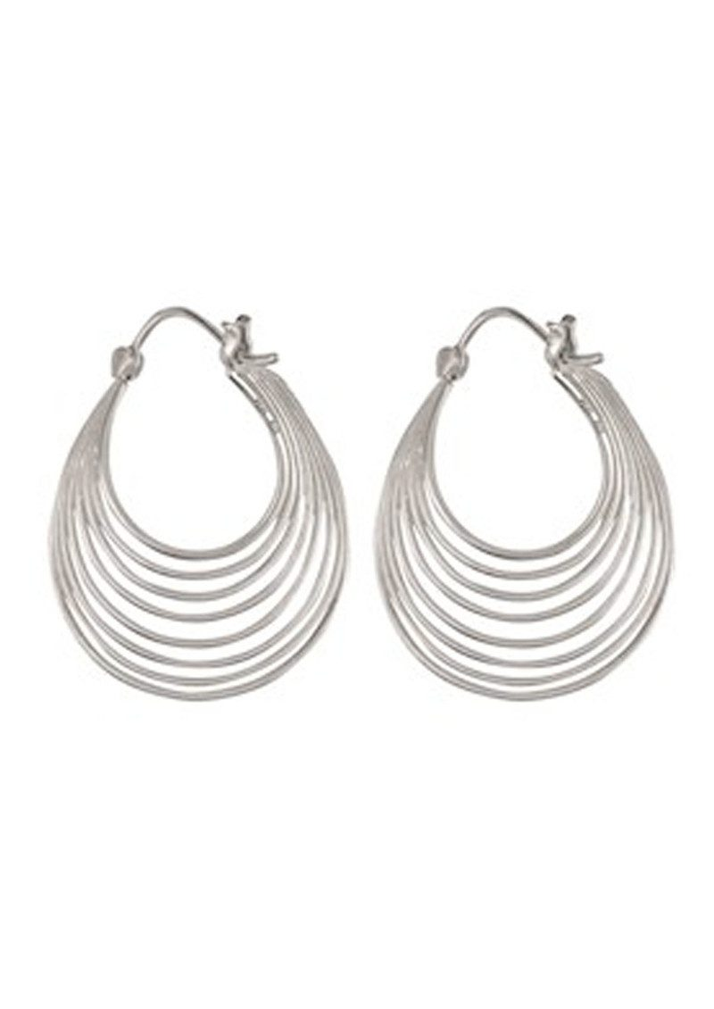PERNILLE CORYDON Silhouette Earrings - Silver main image